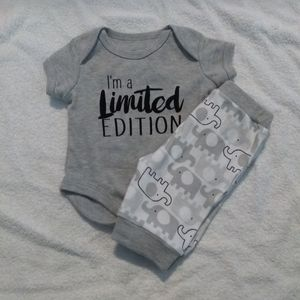 Baby Essentials 2pc Outfit